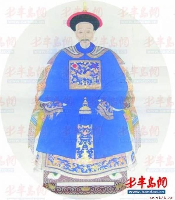 Chân dung của tể tướng Lưu Dung