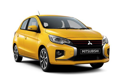 1. Mitsubishi Mirage ES 2020 (mức tiêu hao nhiên liệu ở đường hỗn hợp: 7,2 lít/100 km).