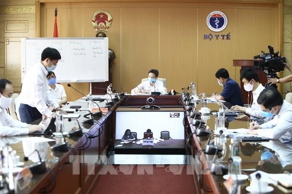 Tập trung kiểm soát ổ dịch tại Bệnh viện Bạch Mai.