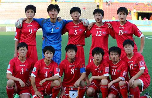 2. Triều Tiên - (điểm số: 1.940). Ảnh: Goal.