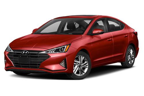 =2. Hyundai Elantra Eco 2020 (mức tiêu hao nhiên liệu ở đường hỗn hợp: 7,8 lít/100 km).