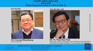Giáo sư Y khoa người Việt tại Đức nói về cách người Đức chống dịch Covid-19
