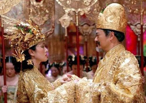 Hôn lễ xa hoa của vua chúa Trung Hoa