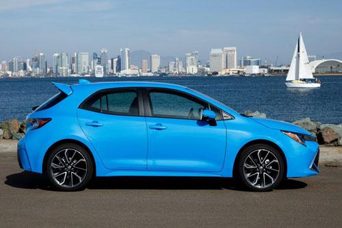 =6. Toyota Corolla Hatchback SE 2020 (mức tiêu hao nhiên liệu ở đường hỗn hợp: 8,1 lít/100 km).