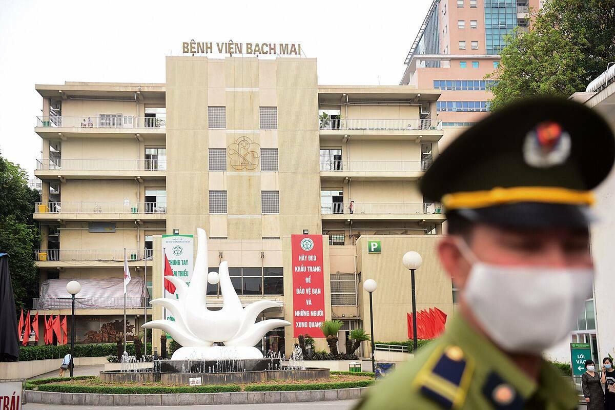 Việt Nam ghi nhận thêm 9 ca bệnh trong ngày 29/3, 2 ca liên quan đến Bệnh viện Bạch Mai.