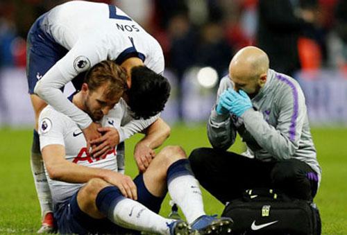 Harry Kane và Son Heung-min có thời gian hồi phục chấn thương.