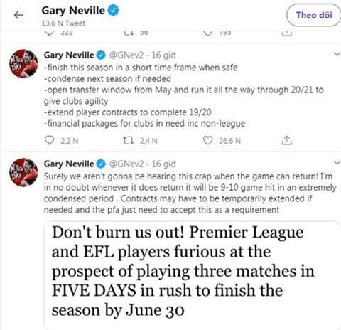 Neville hiến kế cho các nhà chức trách