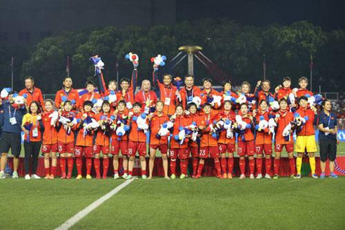 Top 10 đội tuyển nữ mạnh nhất châu Á: Việt Nam góp mặt
