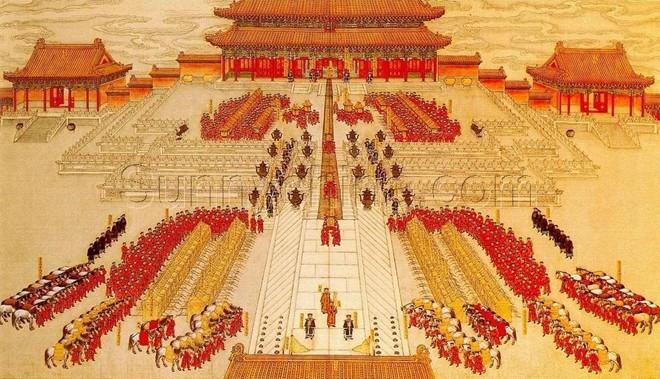 Khung cảnh hôn lễ ngày xưa hoành tráng của các hoàng đế