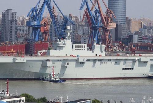 Tàu Type 075 thứ hai của hải quân Trung Quốc