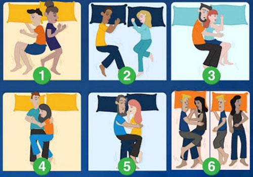 Bạn chọn tư thế nằm ngủ của cặp đôi nào?
