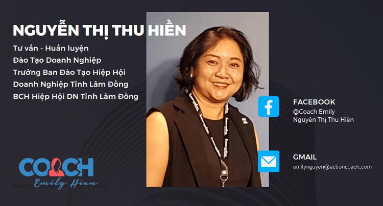 """CEO ActionCOACH PRO Nguyễn Thị Thu Hiền chia sẻ 15 """"bí kíp"""" giúp doanh nghiệp sống sót trong đại dịch Covid-19"""