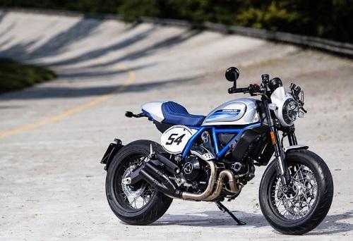 Ducati Scrambler Cafe Racer.
