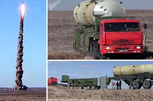 Cách phòng thủ của Nga diệt sạch tên lửa ICBM