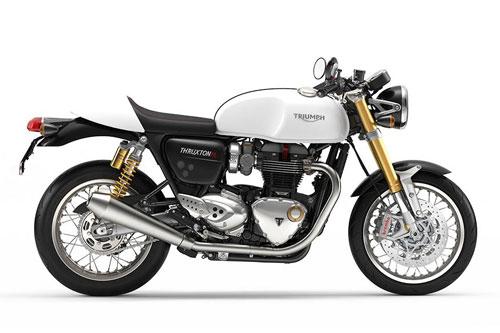 5. Triumph Thruxton 1200R.