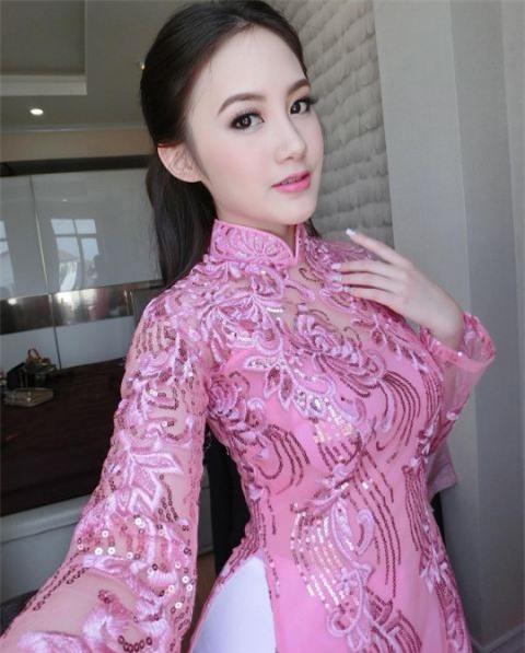 Cận cảnh nhan sắc hot girl gốc Việt số 1 tại Lào - 4