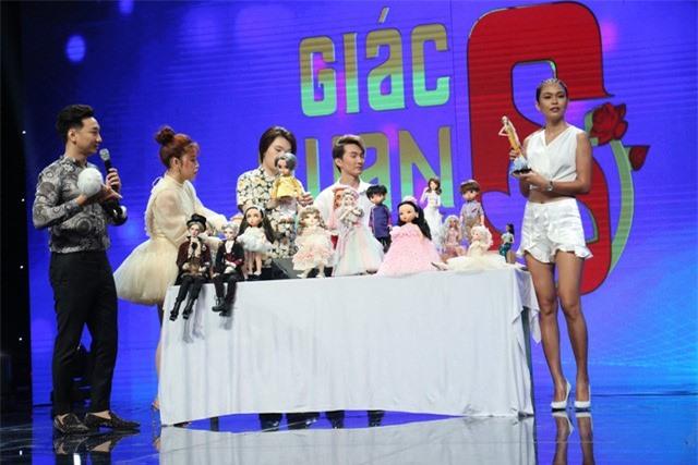 Gặp may mắn, Mâu Thủy giành giải thưởng lớn tại Giác quan thứ 6 - Ảnh 2.