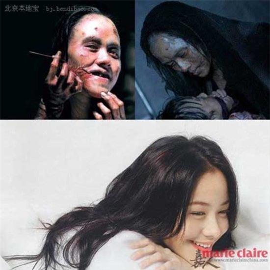 """""""Ngất xỉu"""" trước tạo hình xấu kinh dị của mỹ nhân Hoa ngữ trên màn ảnh - 9"""