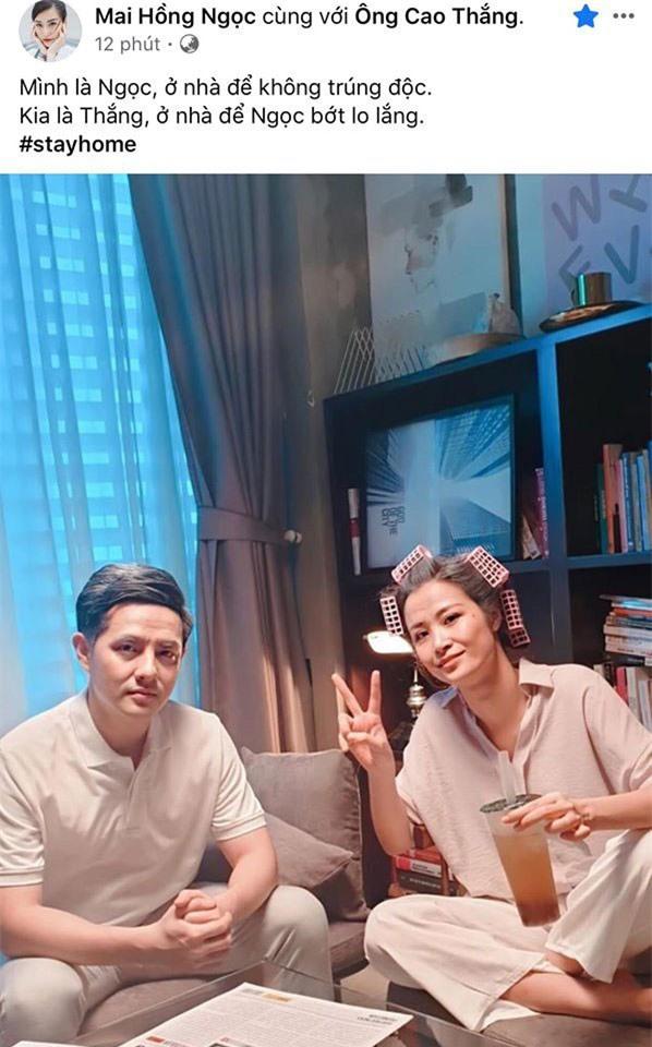Sao Việt đồng loạt đăng ảnh theo trend 'ở nhà' chống dịch - Ảnh 2.