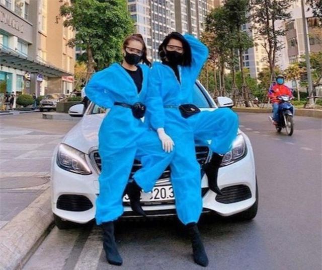 Sao Việt nổi bật với trang phục bảo hộ - 5