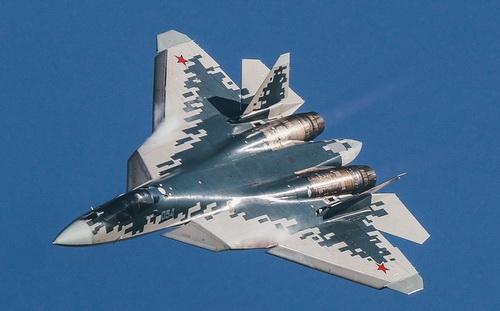 Tiêm kích tàng hình Su-57. Ảnh: RIA Novosti.