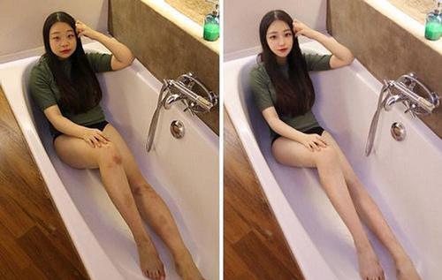 """Loạt ảnh gốc trước khi photoshop thành """"hot girl"""" của các cô gái khiến ai cũng phải """"giật mình"""""""