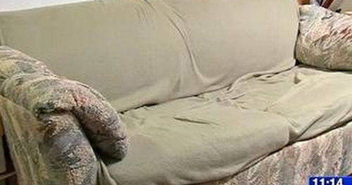"""Sinh viên """"nghèo"""" phát hiện bí mật """"động trời"""" sau khi mua chiếc sofa thanh lý, xấu xí bốc mùi"""