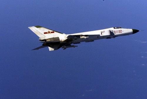 Máy bay J-8II của Không quân Trung Quốc