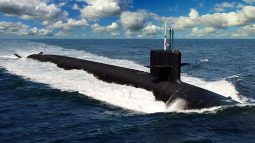 Đồ họa tàu ngầm tên lửa đạn đạo lớp Columbia của Hải quân Mỹ. Ảnh: Jane's 360.