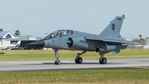 Tiêm kích Mirage F1M được tân trang cho nhiệm vụ huấn luyện chiến thuật. Ảnh: Jane's 360.