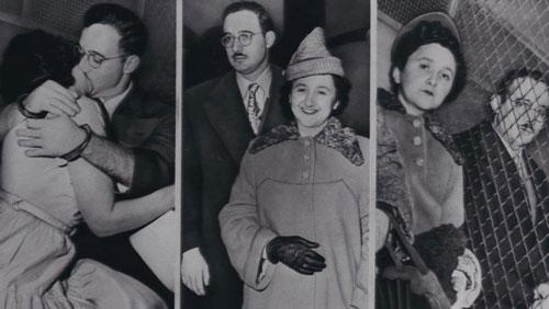 Vợ chồng Julius và Ethel Rosenberg. Ảnh: New York Daily News