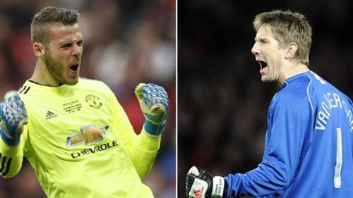De Gea vượt qua kỷ lục 'giữ sạch lưới' của Van de Sar tại Man United
