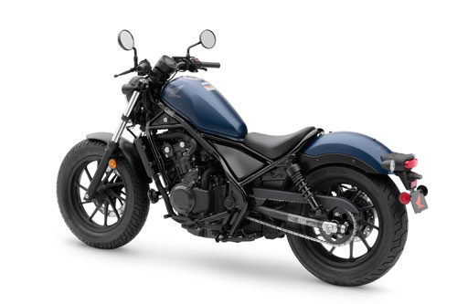 4. Honda Rebel.