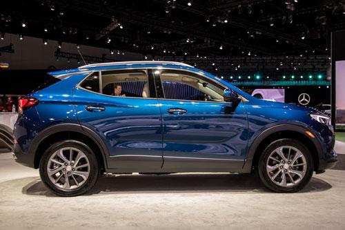 4. Buick Encore GX (mức tiêu hao nhiên liệu ở đường hỗn hợp: 9,1 lít /100 km).