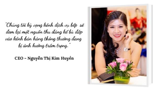 chị Nguyễn Thị Kim Huyền (Jolie Nguyễn),  CEO của công ty TNHH Dịch vụ Lương Nguyên - thương hiệu GENKI JAPAN HOUSE .