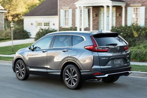 =5. Honda CR-V (mức tiêu hao nhiên liệu ở đường hỗn hợp: 9,4 lít /100 km).