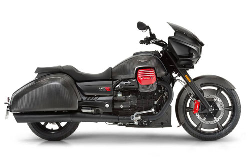 9. Moto Guzzi Flying Fortress.