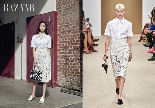 Đẳng cấp nhan sắc của Park Min Young: Diện bộ nào cũng sang và đẹp hơn người mẫu, thần thái lại càng xuất sắc 8