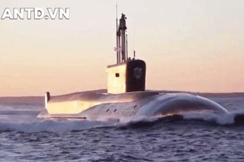 Siêu tàu ngầm hạt nhân của Nga bí mật đi qua bờ biển mà Mỹ không hay biết