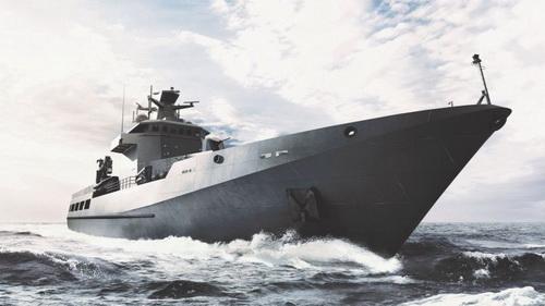 Đồ họa tàu tuần tra xa bờ lớp Arafura. Ảnh: Jane's 360.