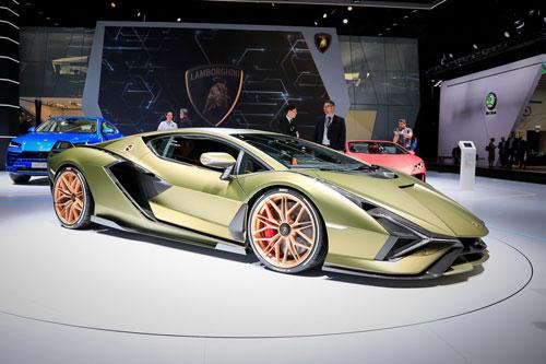 10. Lamborghini Sian (giá: 3,6 triệu USD).