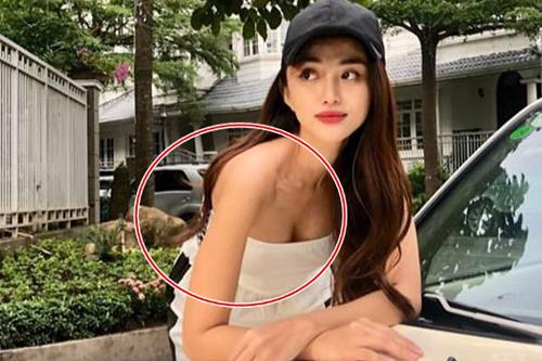 """""""Bóc mẽ"""" mỹ nhân Việt sửa ảnh đến mức méo cả tường, lộ da nhăn nheo"""