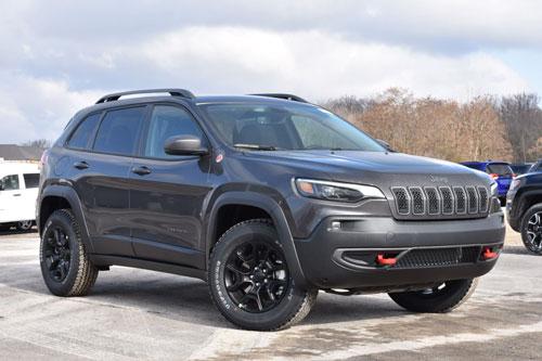 Jeep Cherokee Trailhawk Elite 2020.