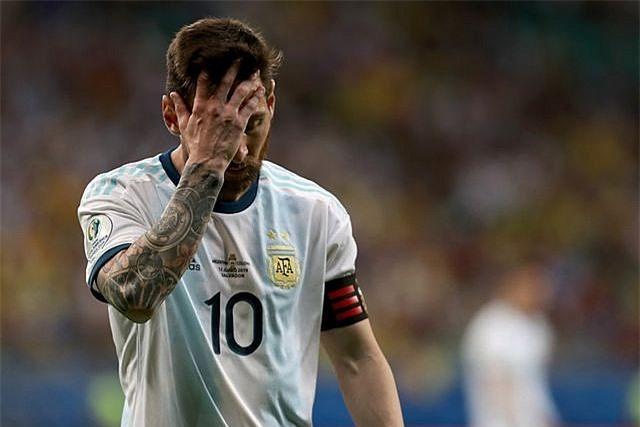 Nhưng tại ĐTQG, Messi là mối nghi ngờ lớn bất tận