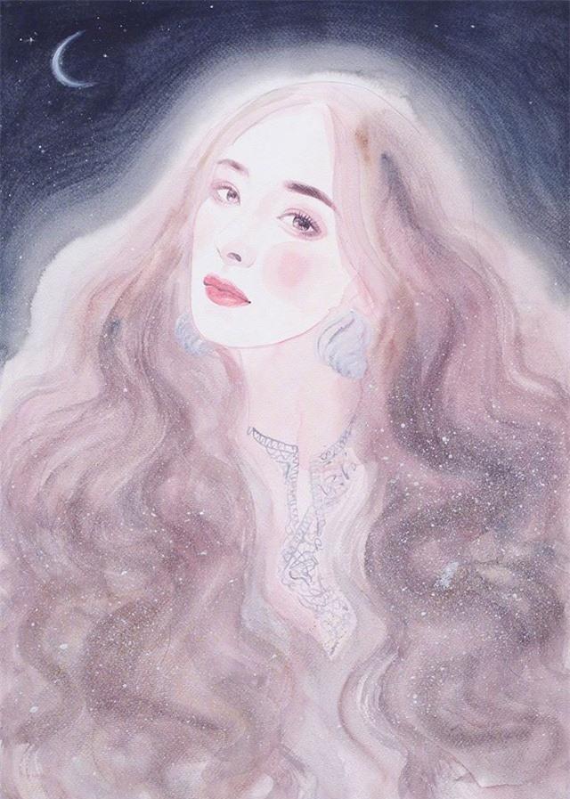 Tung ảnh vẽ, Dương Mịch đẹp tuyệt trên ấn phẩm Thụy Lệ - Ảnh 8.