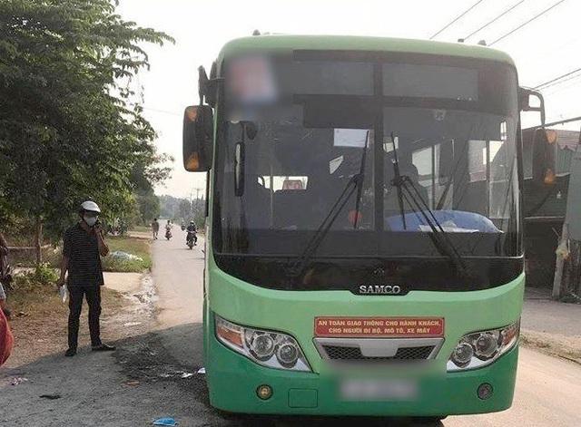 Xe buýt xảy ra vụ án mạng