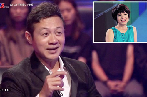 Diễm Quỳnh trợ giúp trả lời xuất sắc cho MC Anh Tuấn.