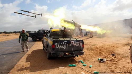 Quân đội Quốc gia Libya đang giành được thắng lợi quan trọng trên chiến trường. Ảnh: Al Masdar News.