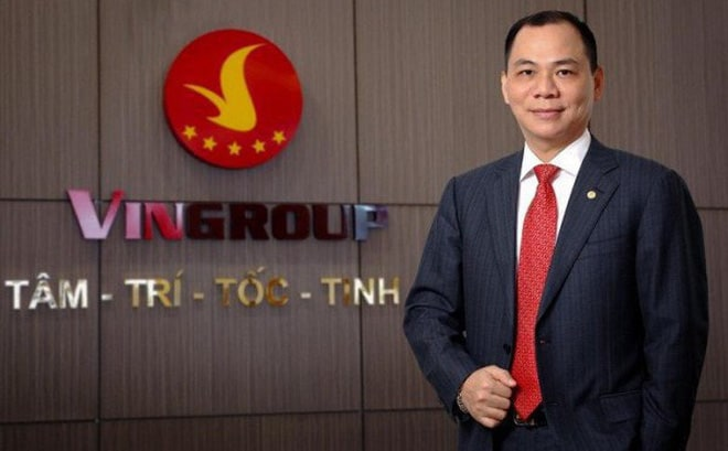 Mr. Pham Nhat Vuong's assets value increased sharply.