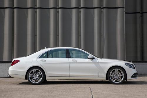 1. Mercedes-Benz S-Class.